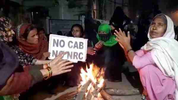 سی اے اے کی مخالفت میں اٹاوہ بھی بنا دہلی کا شاہین باغ
