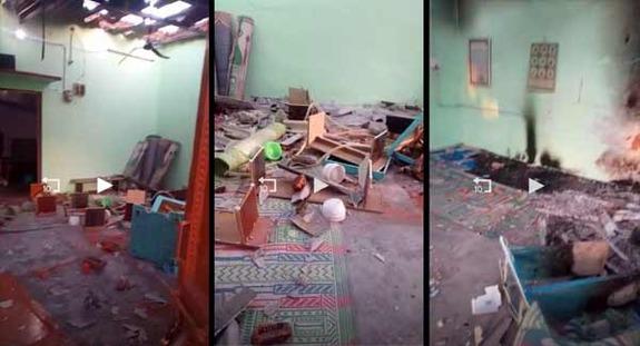 لاک ڈاؤن نافذ ہونے  کے باؤجود نہیں رک رہا مظالم کا سلسلہ ، دہلی کی ایک مسجد میں توڑ پھوڑ