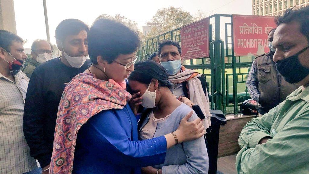 کیا بی جے پی کے رہنماؤں کو تحفظ فراہم کرنا دہلی پولیس کا واحد کام ہے؟: آتشی