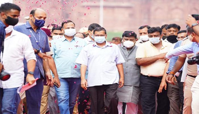 دہلی کا بڑا سیاحتی مقام بنا, چاندنی چوک ،وزیر اعلی اروند کیجریوال نے دوبارہ تعمیر نو اور خوبصورتی کے کام کا افتتاح کیا